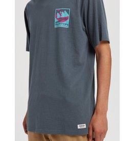 BURTON BURTON Men's Mitler Short Sleeve T Shirt Dark Slate