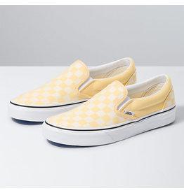 VANS VANS Classic Slip-On (Checkerboard) Golden Haze/true White
