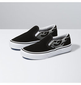 VANS VANS Classic Slip-On (Suede Flame) Black/true White