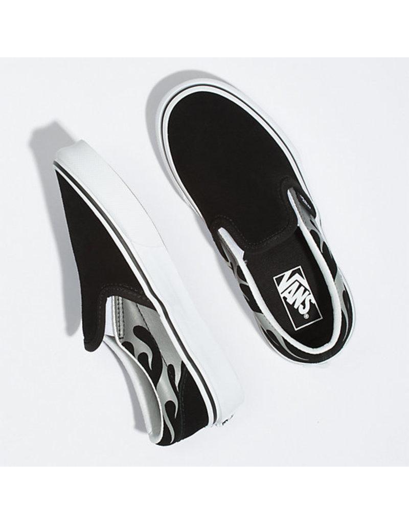 VANS VANS Classic Slip-On (Suede Flame) Black/true White