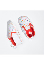 VANS VANS Slip-On V Crib Rainbow Heart/true White