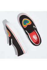 VANS VANS Classic Slip-On (Chenille) Rainbow Heart/true White