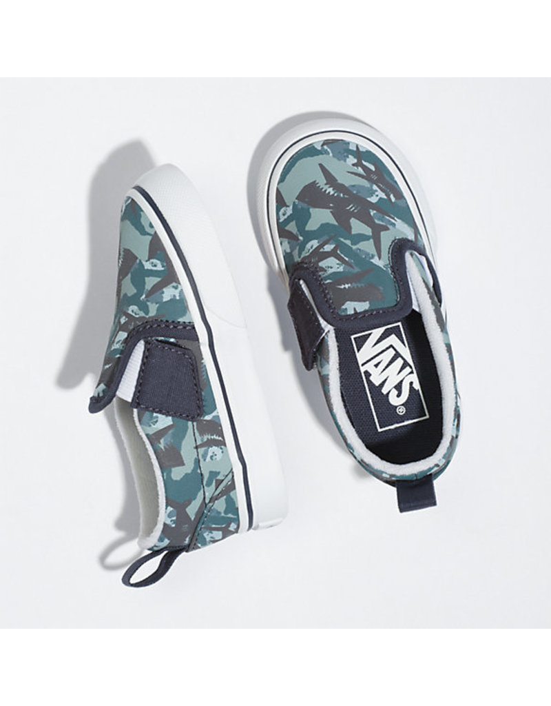 VANS VANS Slip-On V (Animal Camo) Parisian Night/true White