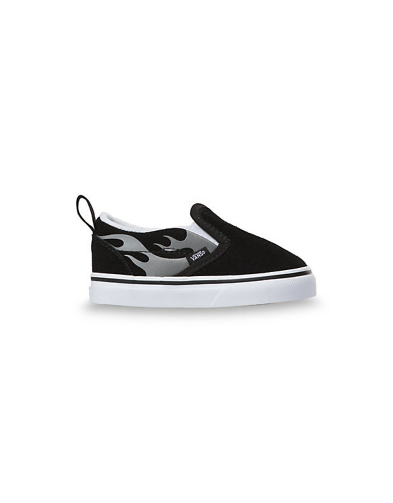 VANS VANS Slip-On V (Suede Flame) Black/true White