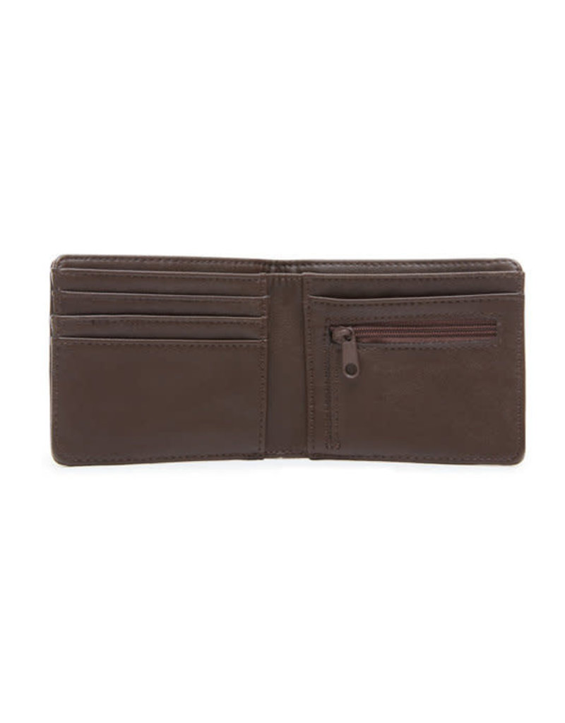 VANS VANS Drop V Bifold Wallet Dark Brown