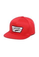 VANS VANS Full Patch Snapback Boys Racing Red