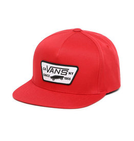 VANS VANS Full Patch Snapback Boys Racing Red
