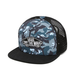 VANS VANS Classic Patch Trucker Plus Boys Shark Camo