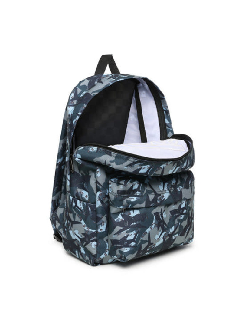 VANS VANS New Skool Backpack Boys Shark Camo