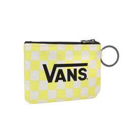 VANS VANS Wallet Keychain Lemon Tonic Checkerboard