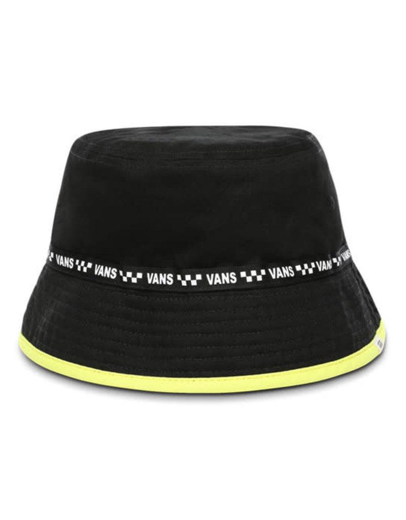 VANS VANS Delux Hankley Bucket Black-Lemon Tonic Checkerboard