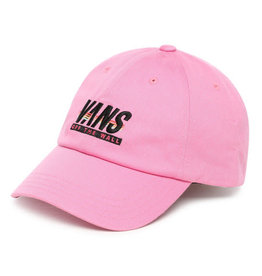 VANS VANS Court Side Hat Fuchsia Pink-Sport Stripe
