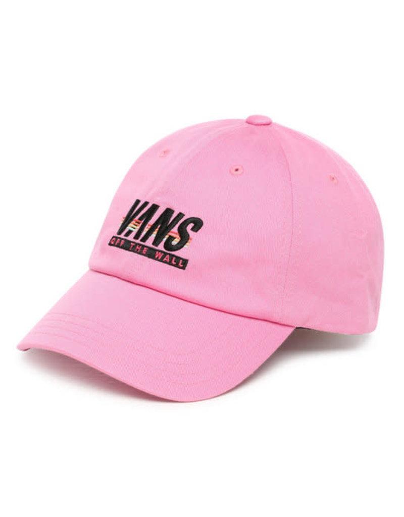 VANS VANS Court Side Hat Fuchsia Pink-Sport Stripe