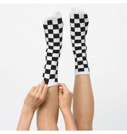 VANS VANS Ticker Sock Black Checkerboard