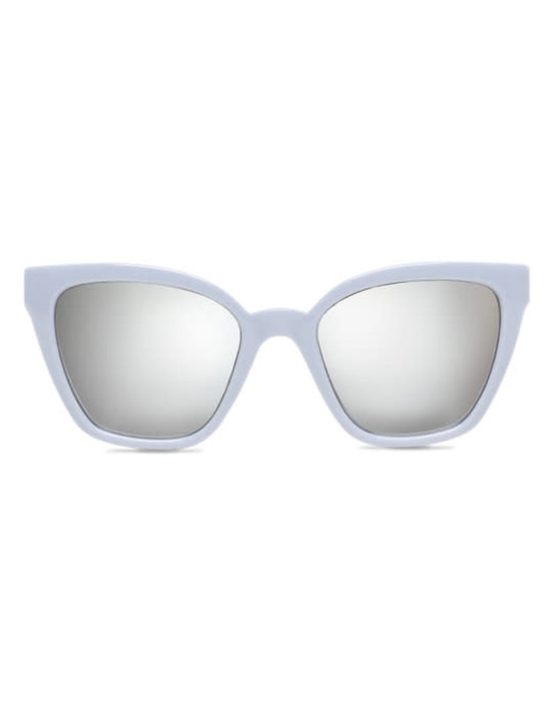 VANS VANS Hip Cat Sunglasses Zen Blue-Silver Mirror Lens