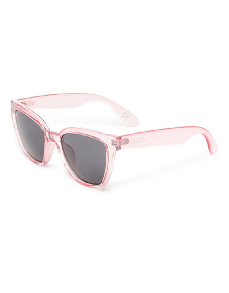 VANS VANS Hip Cat Sunglasses Translucent Fuchsia Pink/Smoke Lens