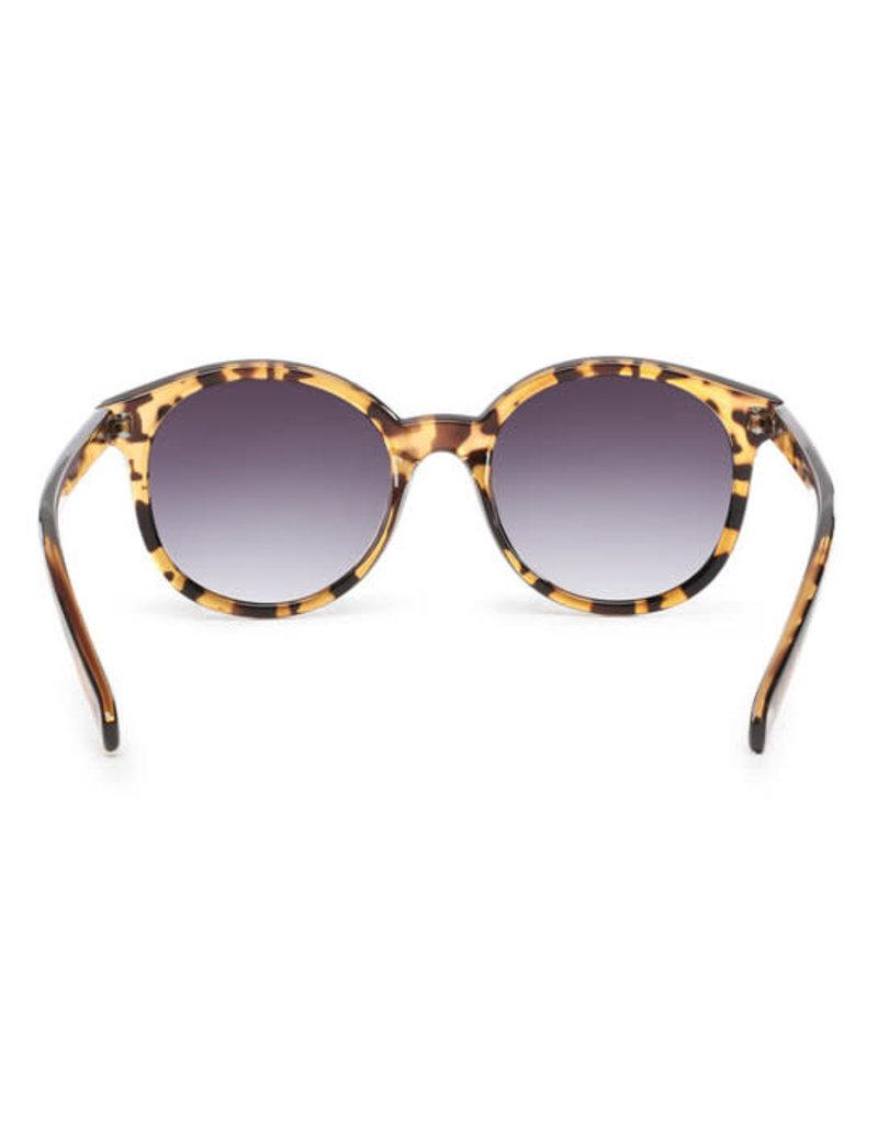 VANS VANS Rise And Shine Sunglasses Tortoise-Gradient Smoke Lens