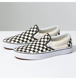 VANS VANS Classic Slip-On Black & White Checkerboard/White