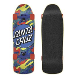 SANTA CRUZ SANTA CRUZ CRUZER 80s MINI PRIMARY DOT [8.39x26.09]