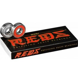 BONES BEARINGS BONES BEARINGS - REDS (SET OF 8)