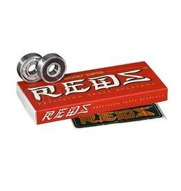 BONES BEARINGS BONES BEARINGS - SUPER REDS (SET OF 8)