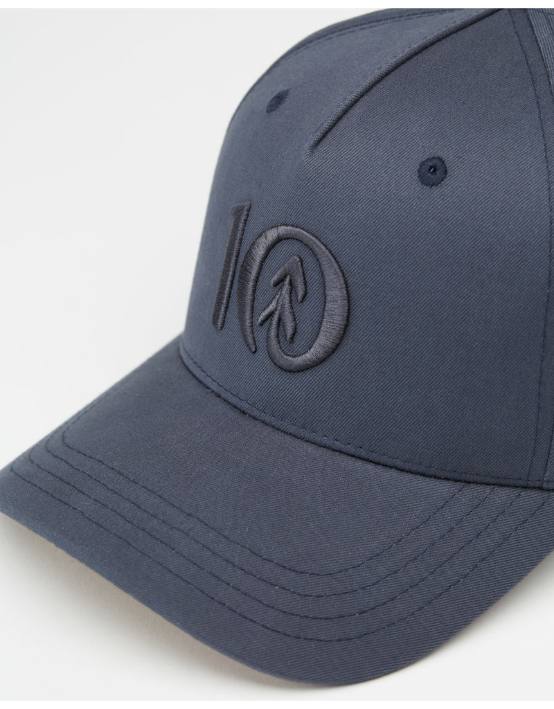 TENTREE TENTREE 5-Panel Altitude Hat Dark Ocean Blue/Cork Under-Classic Ten