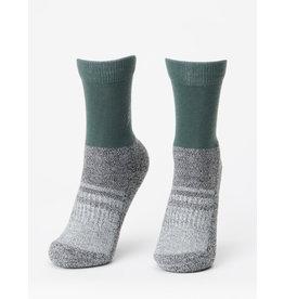 TENTREE TENTREE 3-Bottle Daily Sock 2-Pack Forest Green/Dark Ocean Marled