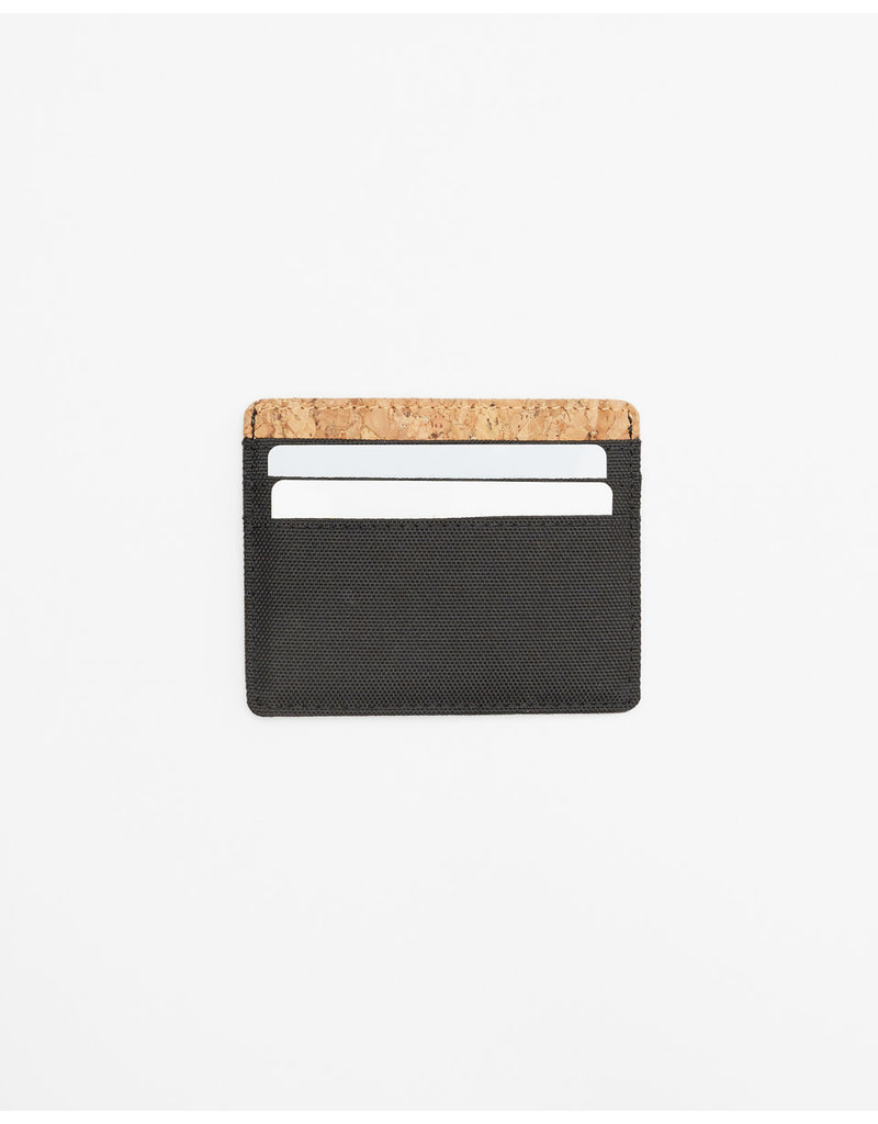 TENTREE TENTREE Redbud Card Holder Meteorite Black
