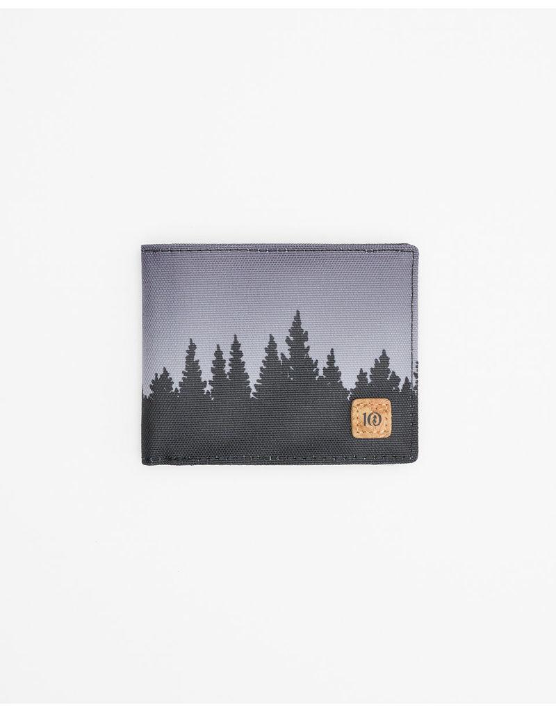 TENTREE TENTREE Baron Bi-Fold Wallet Meteorite Black Juniper