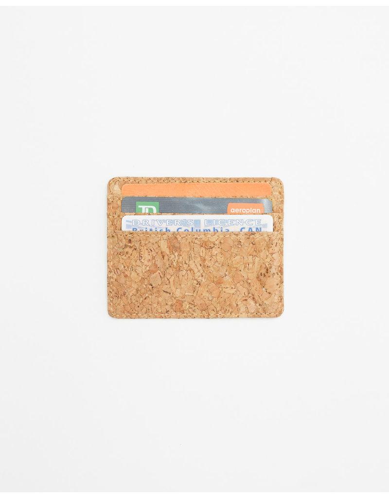 TENTREE TENTREE Redbud Cork Card Holder Cork Fabric