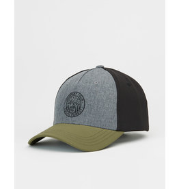 TENTREE TENTREE 5-Panel Altitude Patch Hat Hi Rise Grey/Olive Night