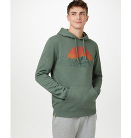 TENTREE TENTREE Vintage Sunset Classic Hoodie Forest Green Heather
