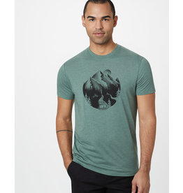 TENTREE TENTREE No Trace Classic T-Shirt Forest Green Heather