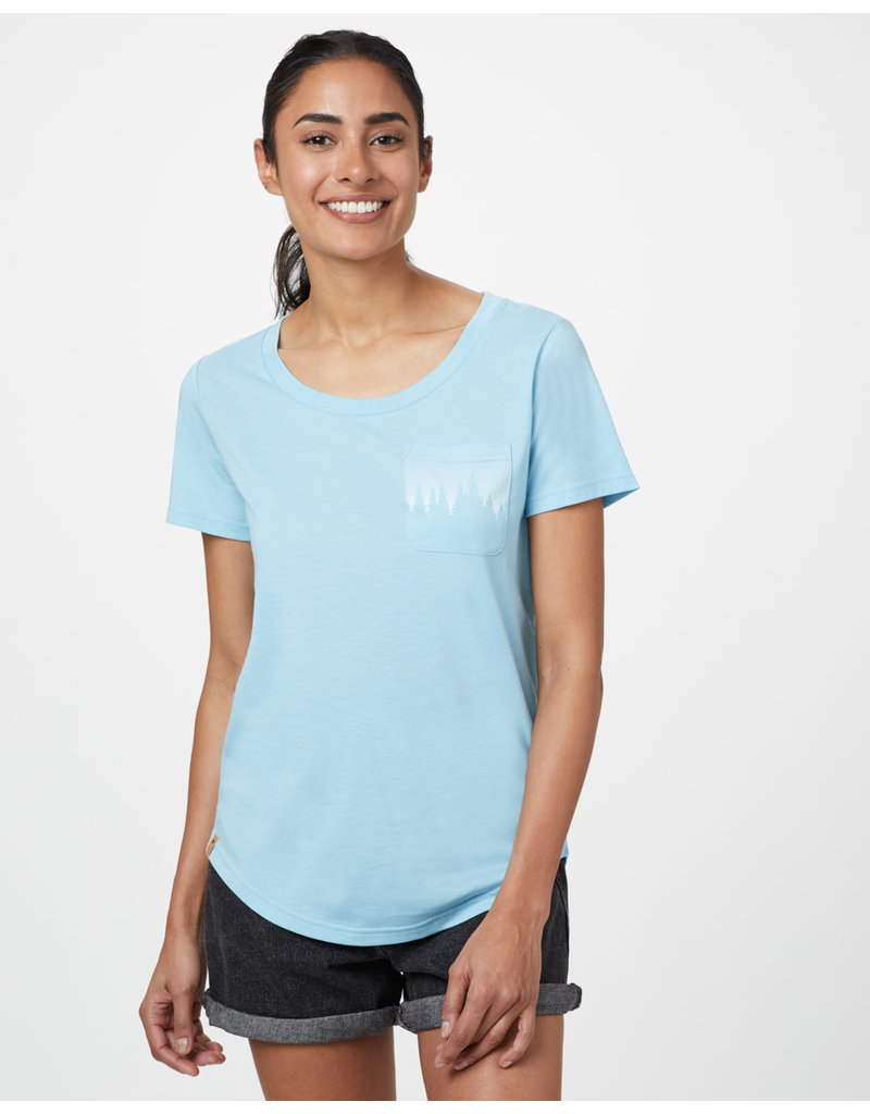 TENTREE TENTREE Juniper Pocket T-Shirt Glacier Blue Heather