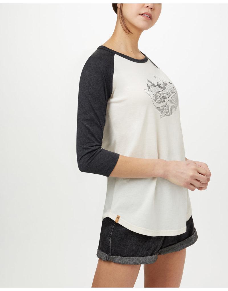 TENTREE TENTREE Oceanic Planter Shirt Elm White/Meteorite Black