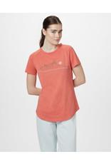 TENTREE TENTREE Geo Mountain Raglan T-Shirt Burnt Sienna Orange Heather