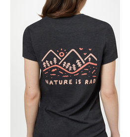 TENTREE TENTREE Nature is Rad Classic T-Shirt Meteorite Black Heather