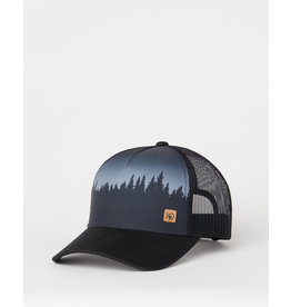 TENTREE TENTREE 5-Panel Altitude Hat Meteorite Black Juniper