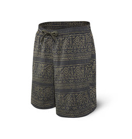 SAXX SAXX Cannonball 2N1 Short Long Black Mud Cloth