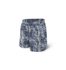 SAXX SAXX Cannonball 2N1 Short Trunk Blue Great Wave