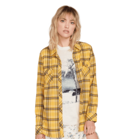 VOLCOM VOLCOM Getting Rad Plaid LS Sunrise