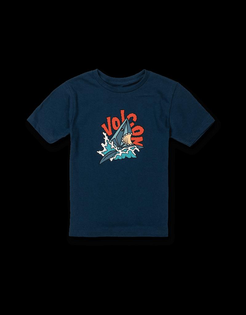 VOLCOM VOLCOM Sharkish S/S T Youth Harbor Blue