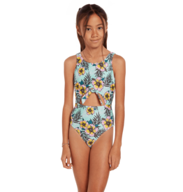 VOLCOM VOLCOM Wave Back 1 Piece Sea Glass