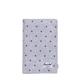 HERSCHEL HERSCHEL Search RFID Polka Dot Crosshatch Grey/Black