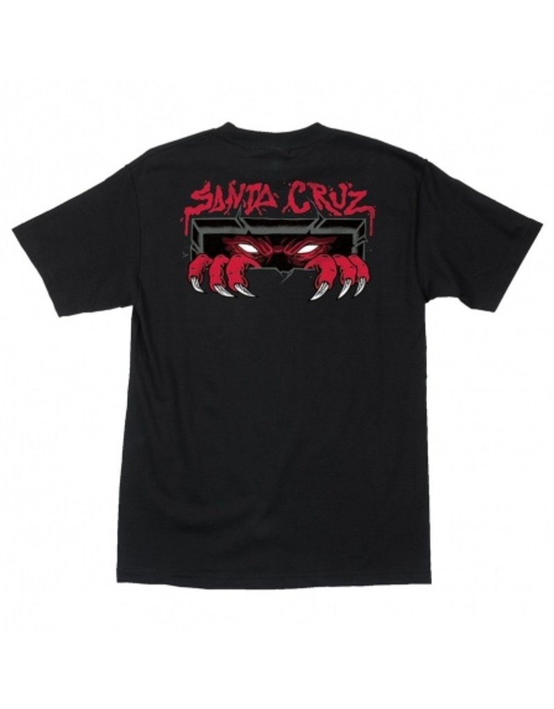 SANTA CRUZ SANTA CRUZ T-Shirt Unknown Black