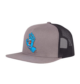 SANTA CRUZ SANTA CRUZ Trucker Hat Screaming Hand Front Charcoal/Black
