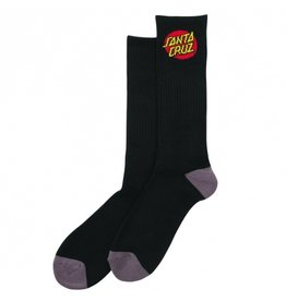 SANTA CRUZ SANTA CRUZ Youth Socks Cruz 4 Pairs Black