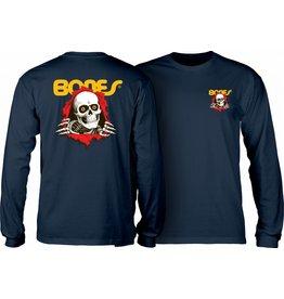 POWELL PERALTA POWELL PERALTA L/S T-Shirt - Ripper Navy