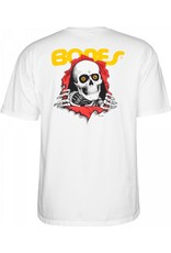 POWELL PERALTA POWELL PERALTA S/S T-Shirt - Ripper White