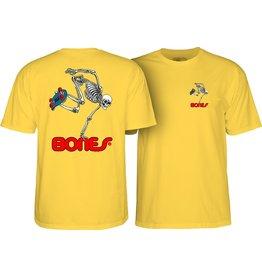 POWELL PERALTA POWELL PERALTA S/S T-Shirt - Skateboard Skeleton Banana